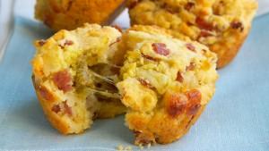 muffin con salame